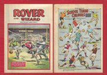 Rover Comic Lyon v Tottenham Hotspur Di Nallo November 2nd 1968